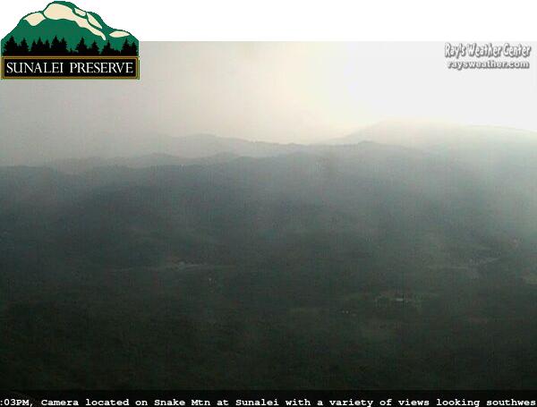 Live Camera from Sunalei Preserve, Boone, NC 28607